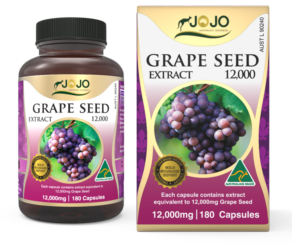 Grape Seed Extract 12,000mg 180 Capsules