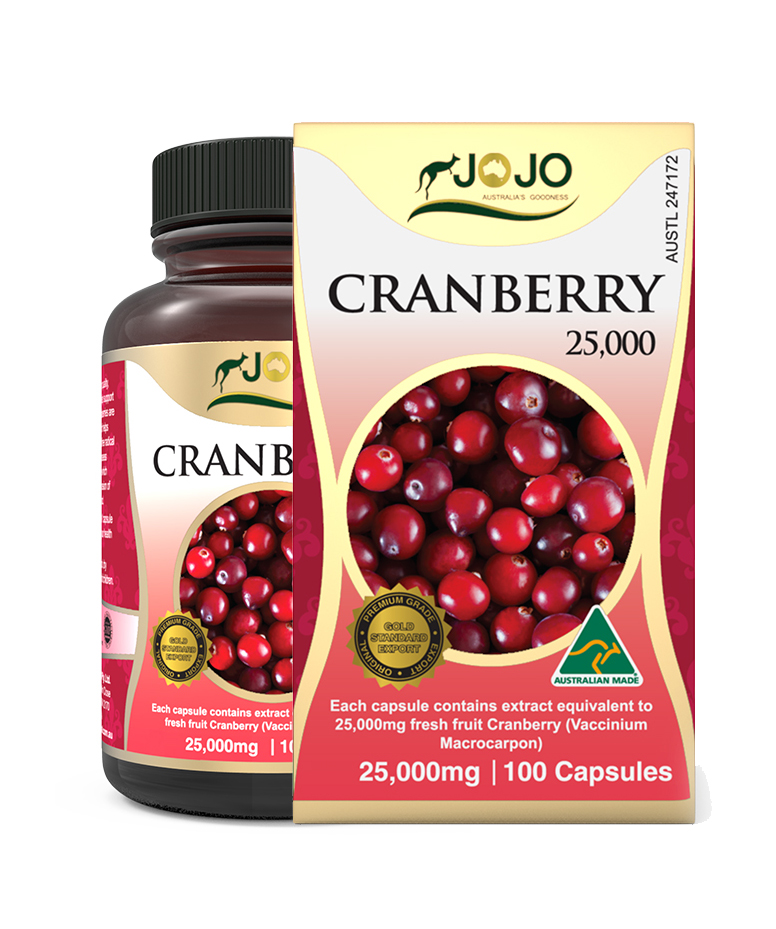 Cranberry 25,000mg 100 Capsules