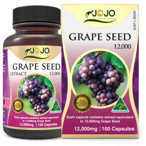 Grape Seed Extract 12,000mg 100 Capsules