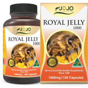 Royal Jelly 1000mg 100 Capsules